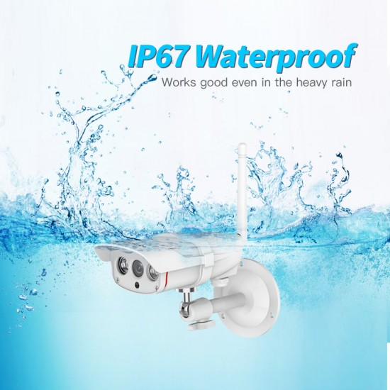 [ Free Cloud Service ]  C16S IP 1080P Outdoor Security Waterproof Camera