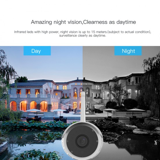 C17S 1080P FHD Security IP66 Waterproof Camera
