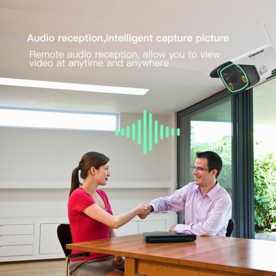 [ Free Cloud Service ]  C18S 1080P Outdoor Weatherproof  IP Camera