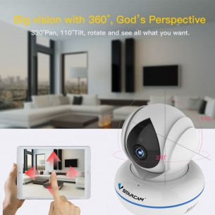 C22Q 4.0 Megapixel AI  Security Camera