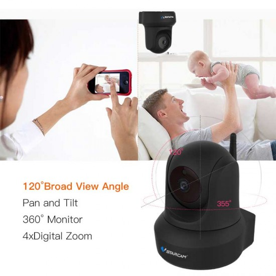VStarcam C29S 1080P Baby monitor  Wireless IP Camera