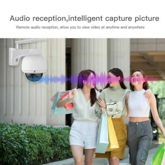 C32S-X4 PTZ 1080P FHD 4X Zoom audio reception IP Camera