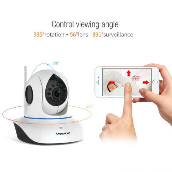 C7838WIP WIFI Network Baby Monitor Camera