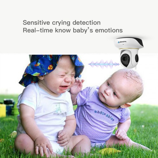 [ Free Cloud Service ]  C38S full HD Indoor Baby Monitor IP Camera