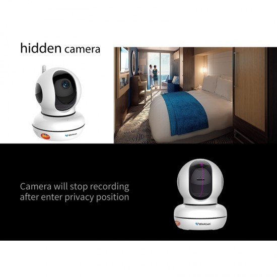 C46S Smart Hidden Baby Monitor Camera