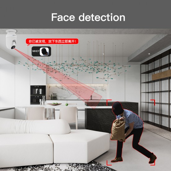 AF81 1080P HD Smart Face Identification Monitor IP Camera