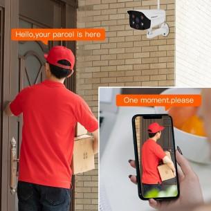 CS52 Full Color Smart   Outdoor WIFI  IP Camera