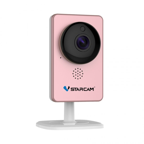 C60S Pink WiFi Mini Camera Panoramic Camera