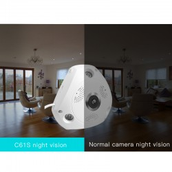 C61S WIFI  360° Panoramic monitoring IP Camera