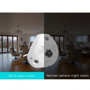 C61S WIFI  360° Panoramic monitoring IP Camera