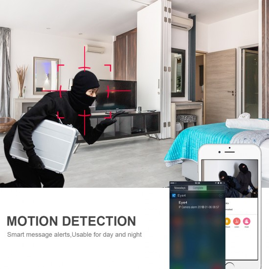 C7825WIP WIFI Crying Detection Baby Monitor Camera