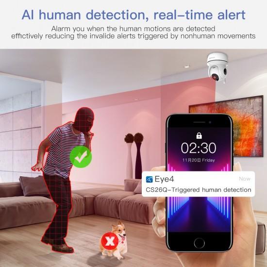 CS26Q 4.0 MP QUHD AI  Security Camera