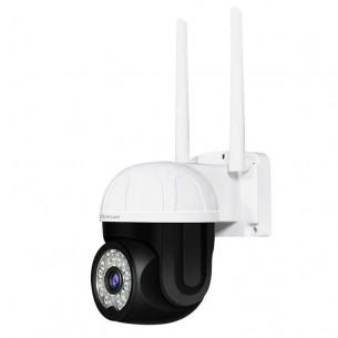 CS662 Smart Outdoor Red&Blue Lights Alarm IP Camera