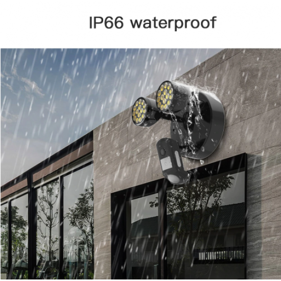 FC2 Outdoor HD 1080P WIFI Floodlight Ip66 Waterproof IP Camera