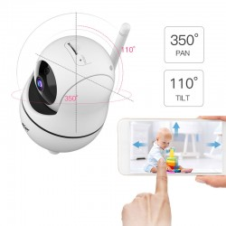 G45 720P IP Camera Wifi Baby Monitor CCTV Camera