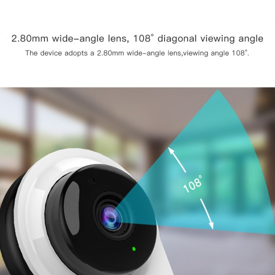 G96 720P HD Mini Wifi Security Baby Monitor Camera