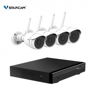 NVR N8209 & 4PCS C17S 1080P Camera NVR Kits