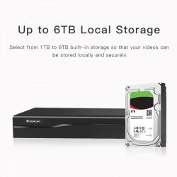 VStarcam N8216 16CH NVR Audio output HD Video Recorder