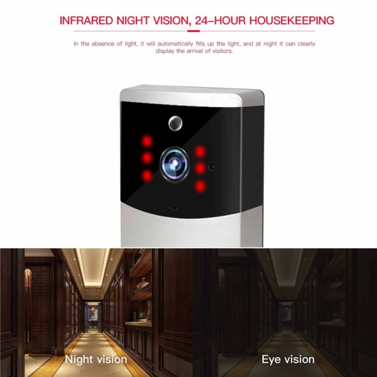 V2-Plus  Smart Wi-Fi video Original Picture Doorbell