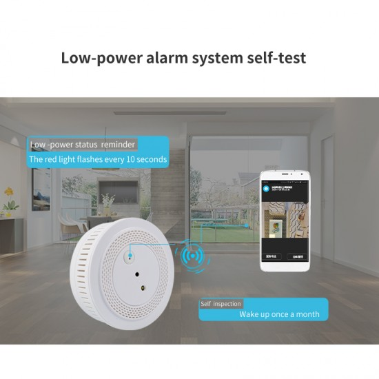 WM2  Remote Alarm WIFI Photo Smart Detector