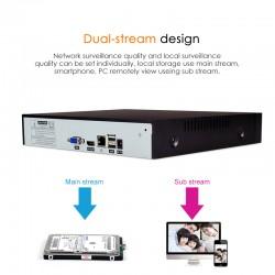 NVR  N8209 + 4 PCS C7824WIP IP Camera NVR Kit